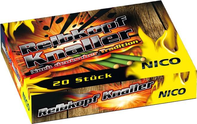 Feuerwerk Raibkopfknaller 20er Packung