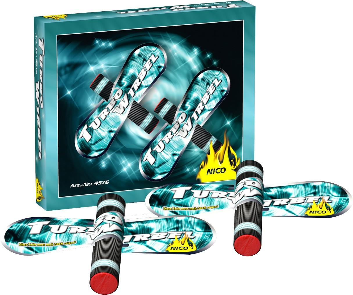 Feuerwerk Turbo Wirblel 30 Meter Effekte