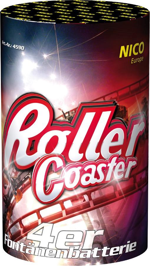 Batterie Fontäne Roller Coaster