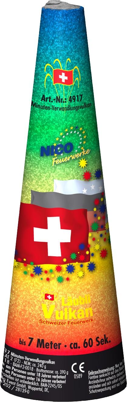 Schweizer Verwandlungsvulkan