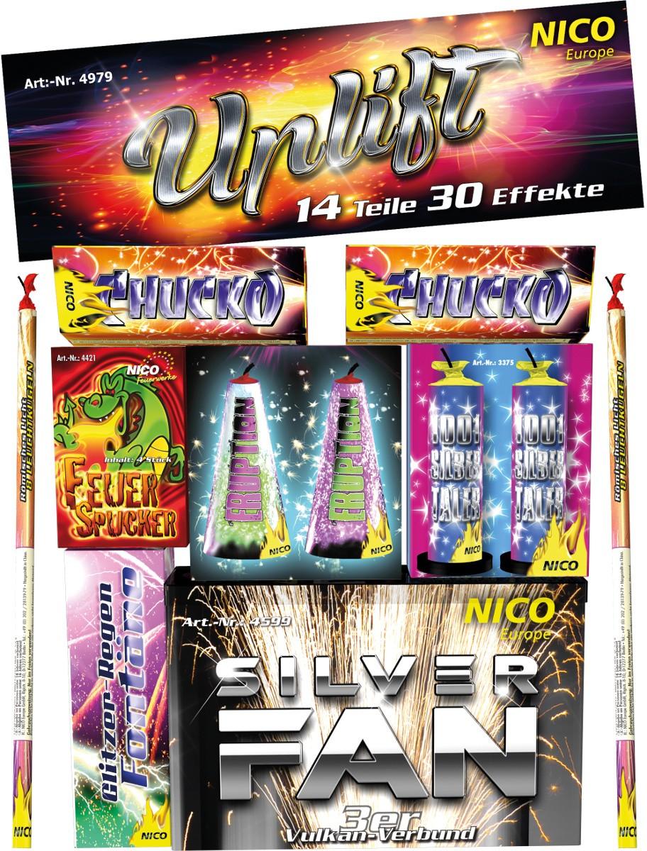 Feuerwerk Set Uplift 14-teilig