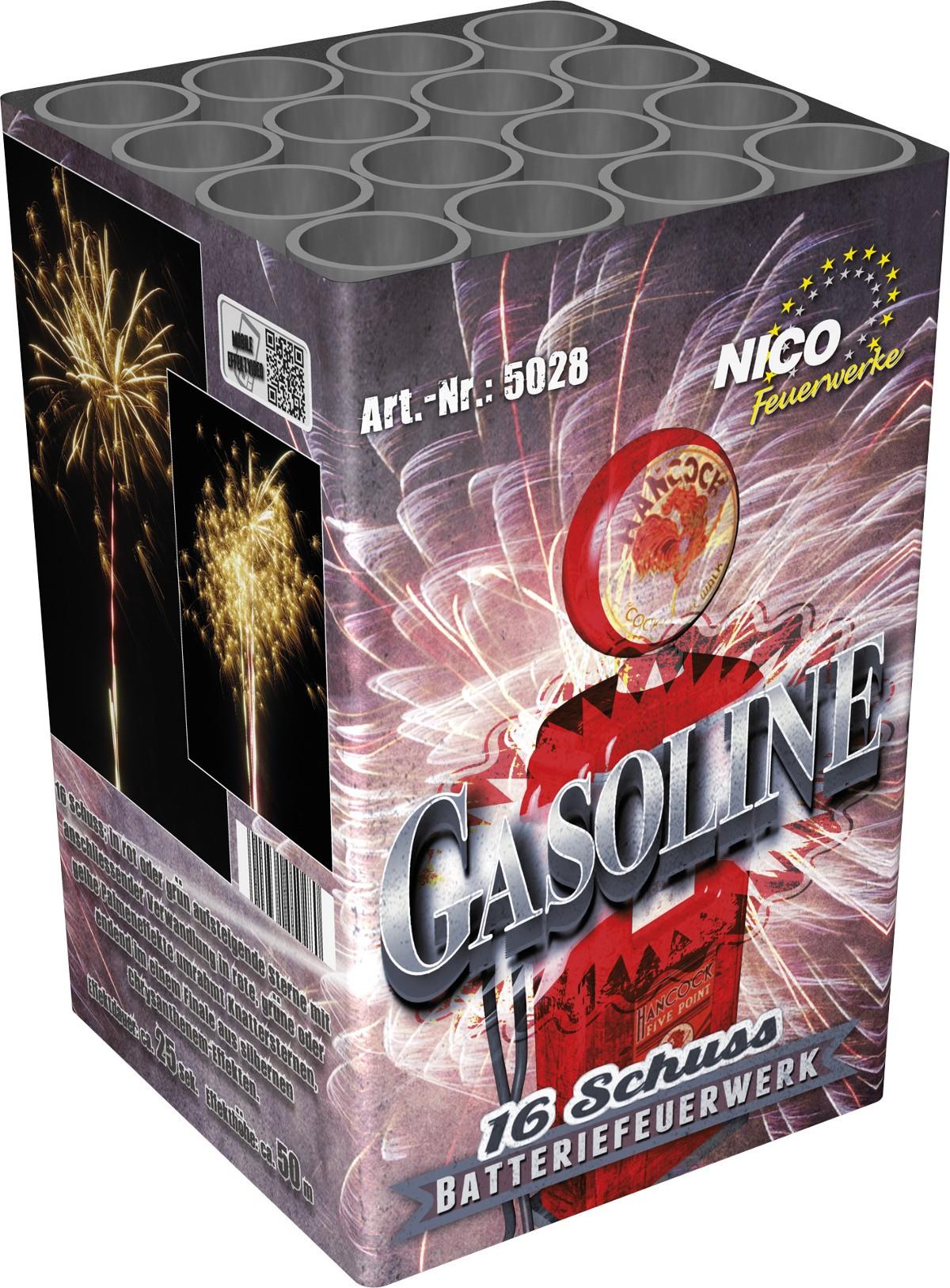 Feuerwerk Batterie 16 Schuss Casoline