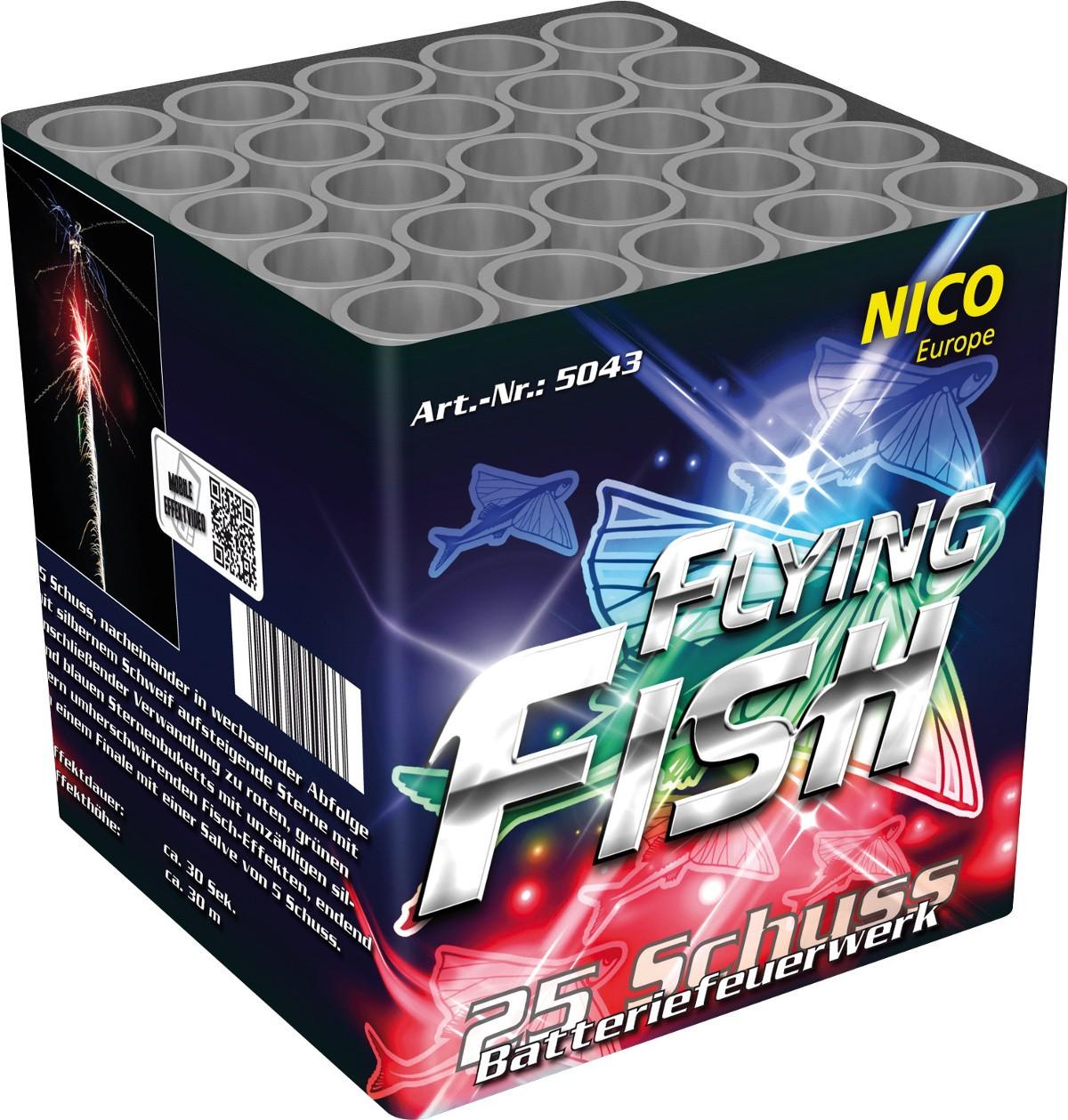 Flying Fish Batterie 25 Schuss