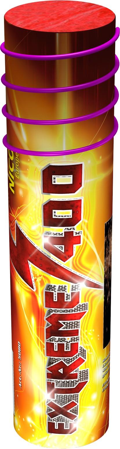 Extreme Feuerwerk Batterie 400 Schuss