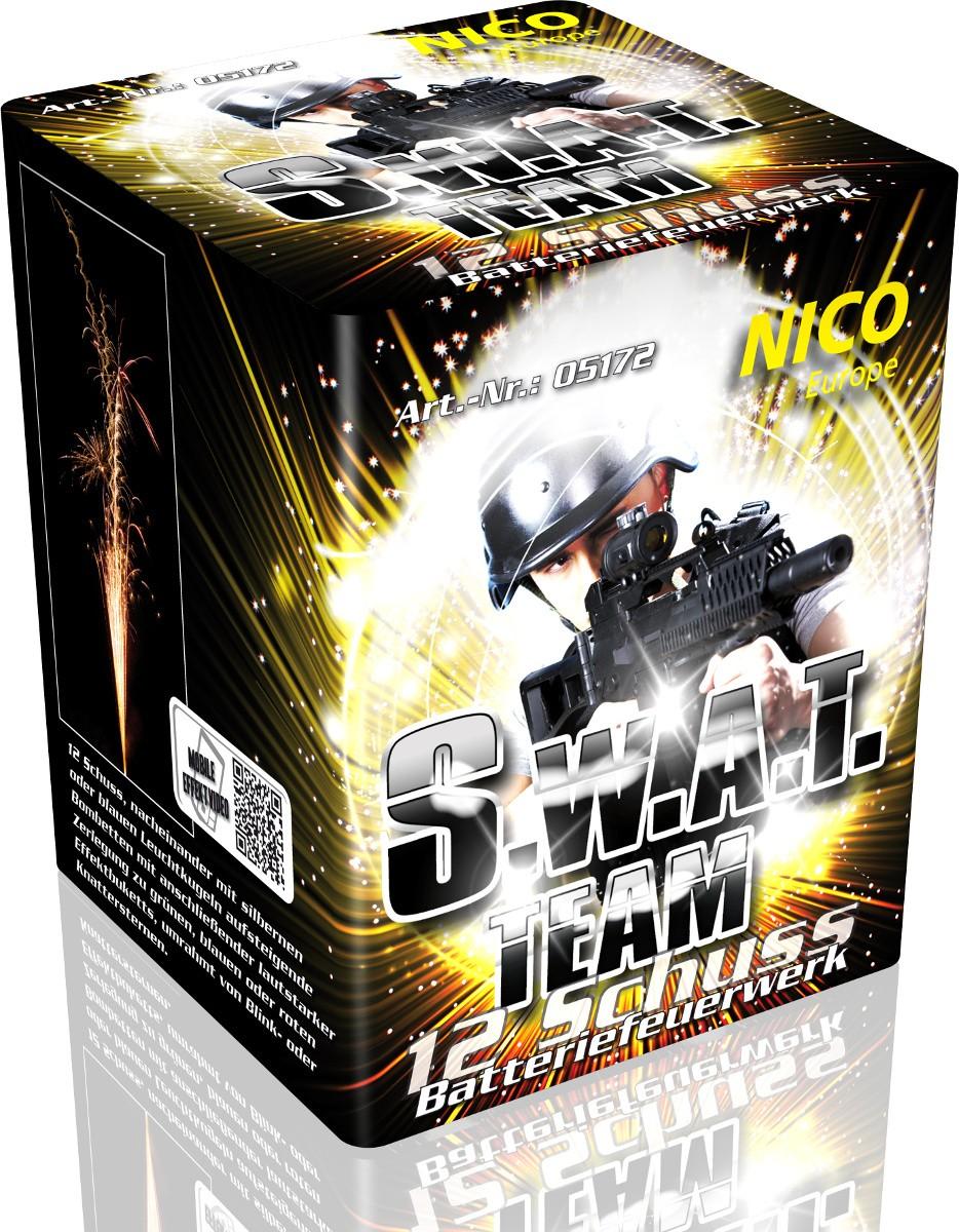 Feuerwerk Batterie Swat 12 Schuss