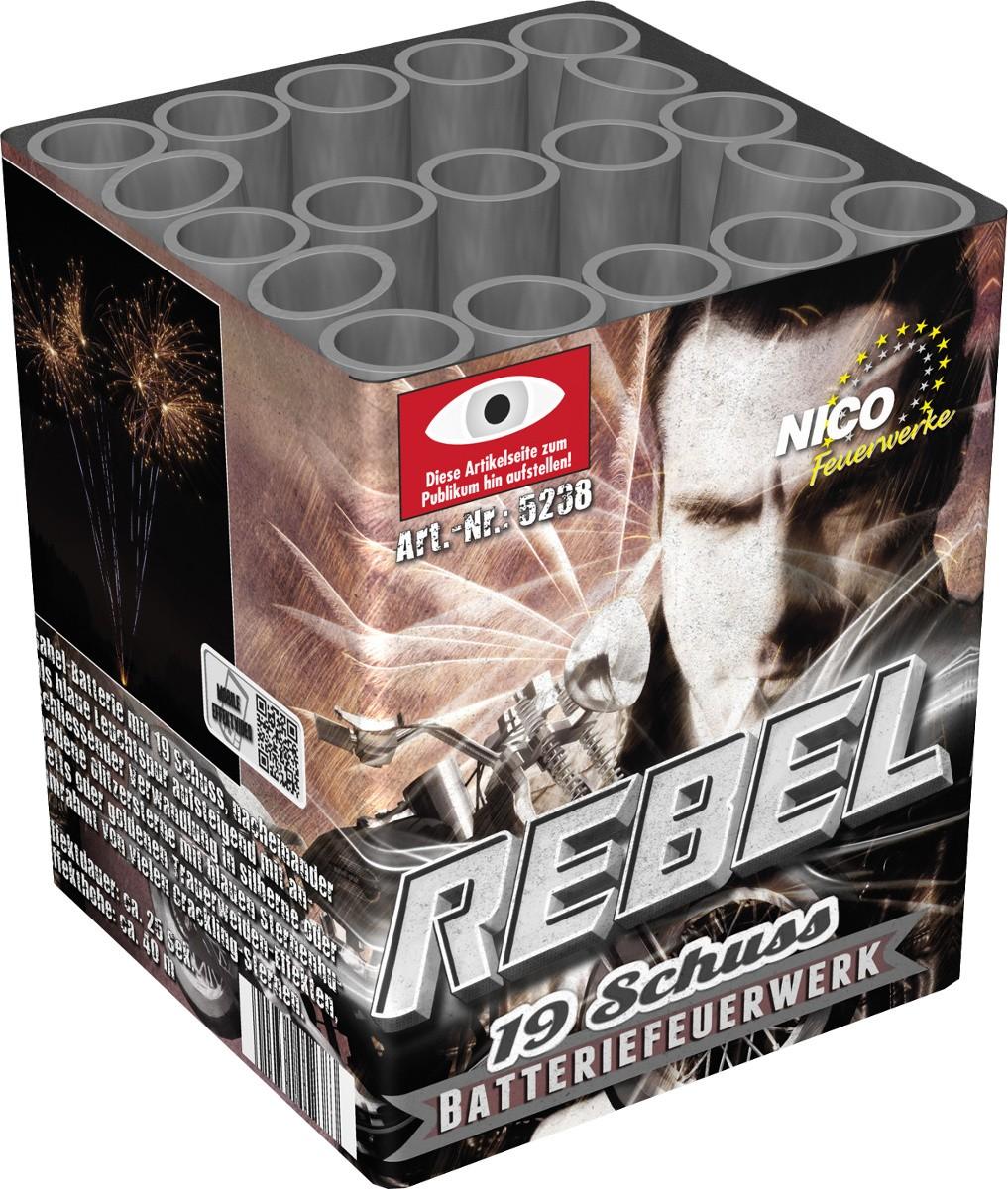 Feuerwerk Batterie Rebel 19 Schuss