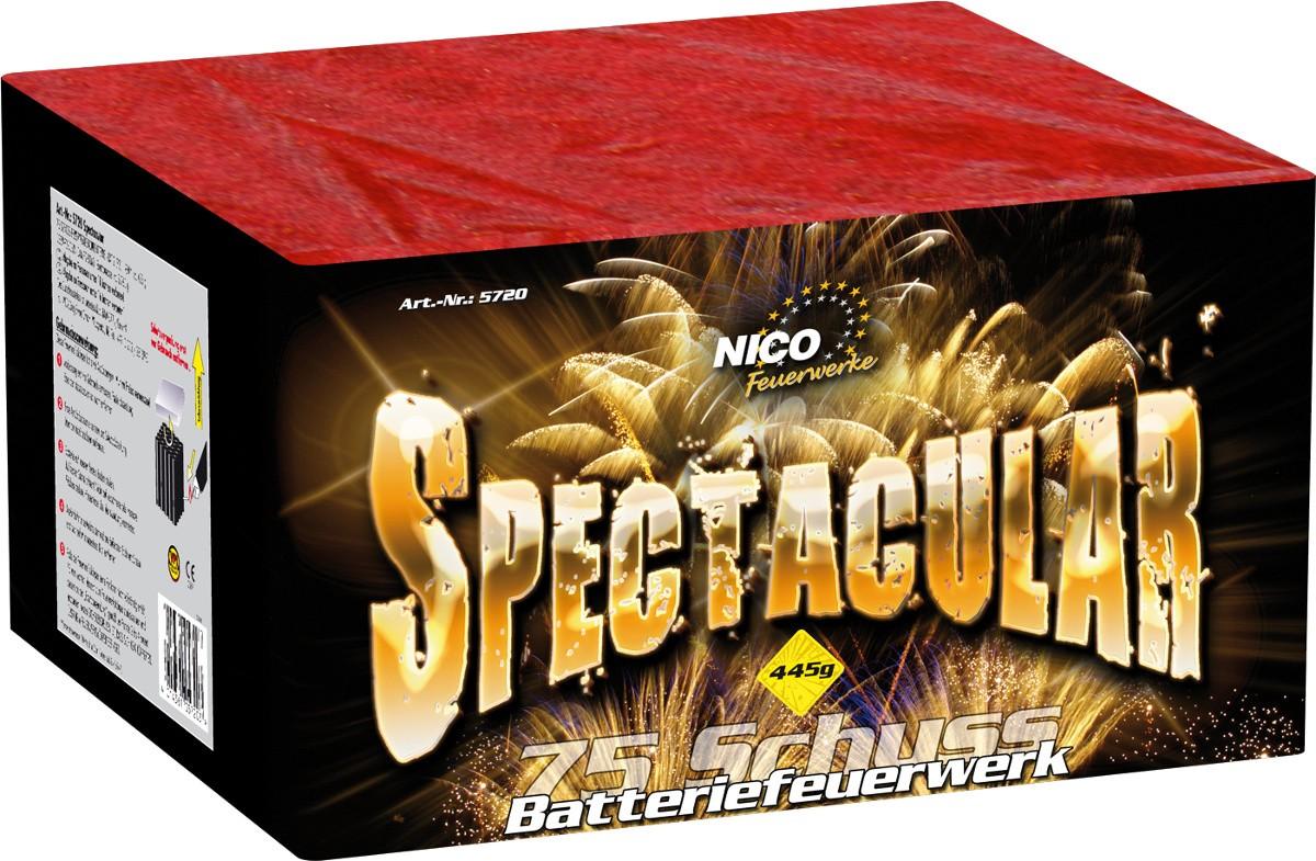Feuerwer Spectacular Batterie 75 Schuss