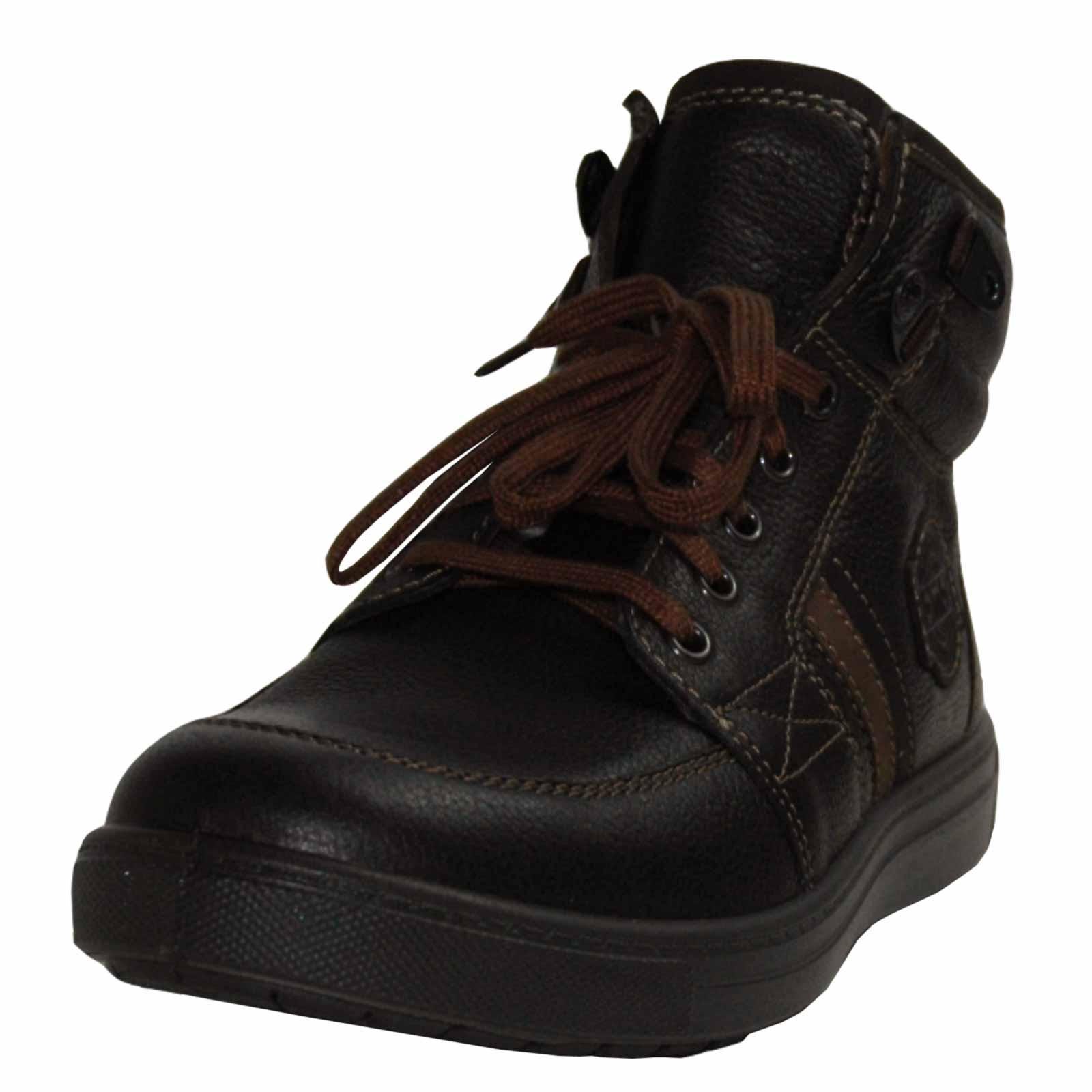 Jomos Herren - Boots RALLYE Choco 3,5cm Absatz