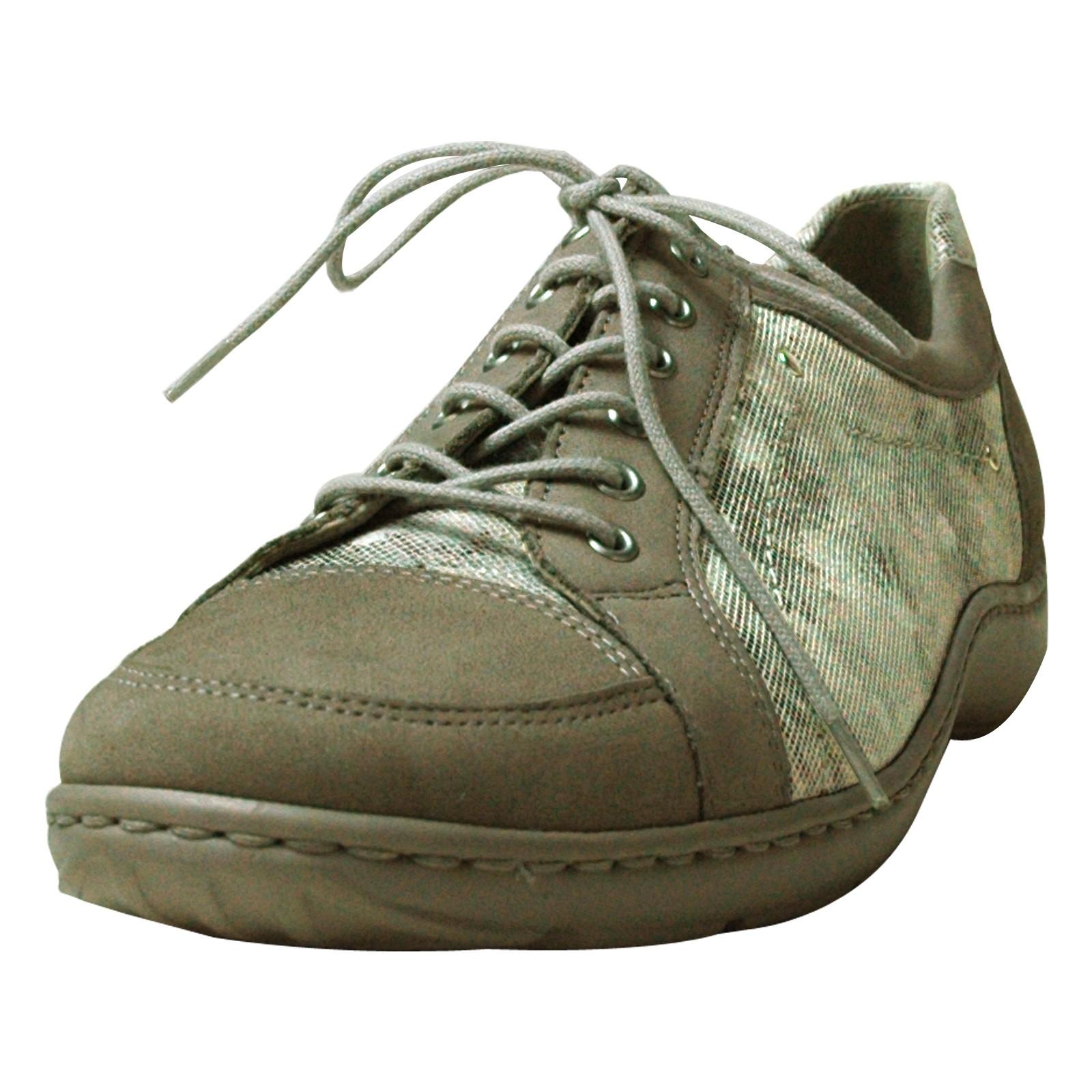 Waldläufer Lugina Damen Sneakers, Weite H mit Wechselfußbett