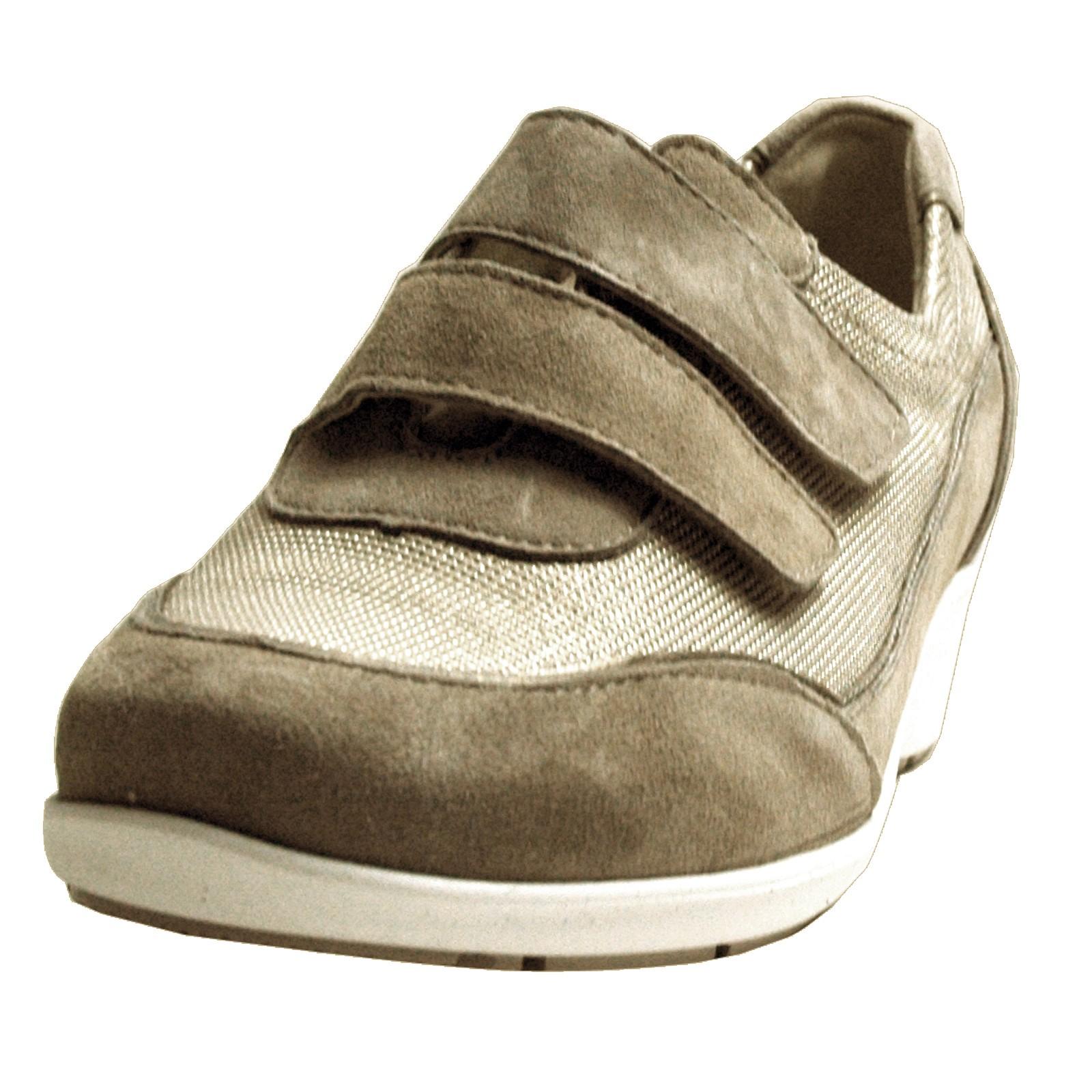 Waldläufer Damen Sneakers Kina, corda lightgold, Weite K