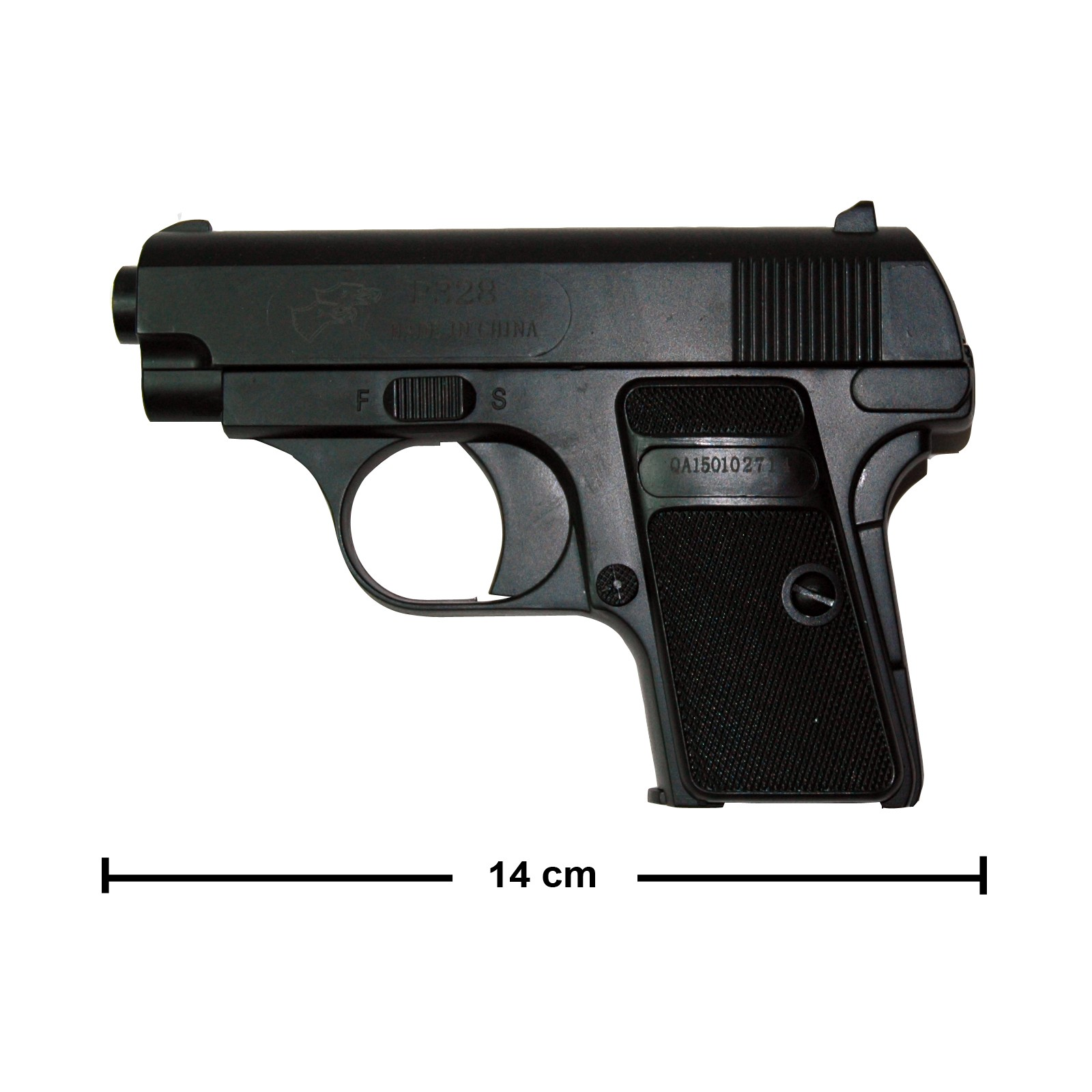 Pistole Softair, Inklusive Munition 14cm lang kaliber 6mm