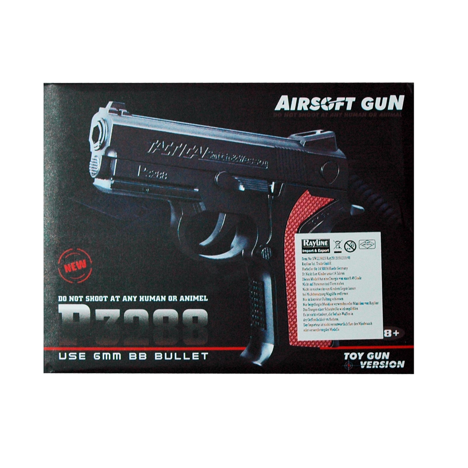 Air Soft Pistole, Inklusive Munition 6mm