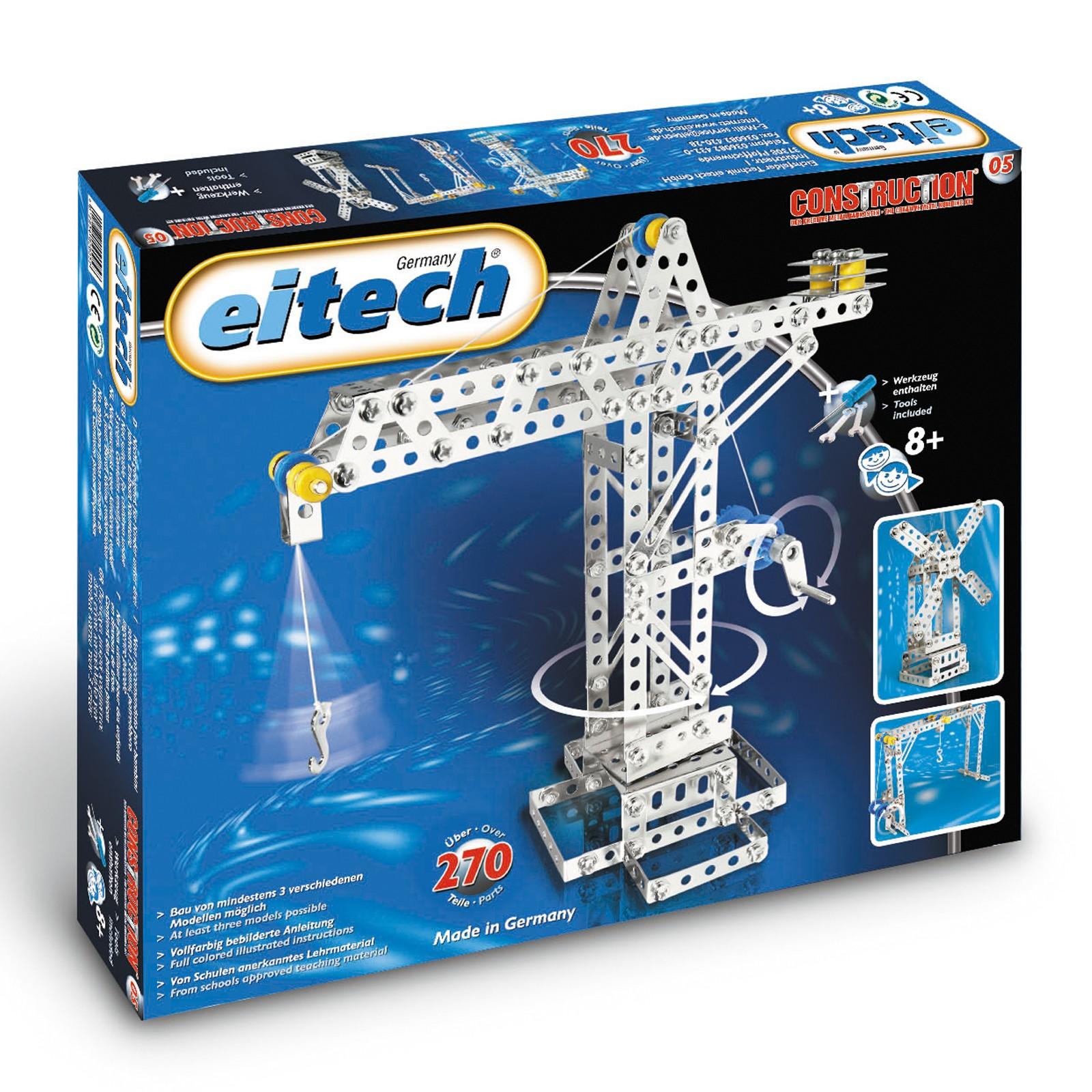 EITECH Metallbaukasten Universal Hebebrücke