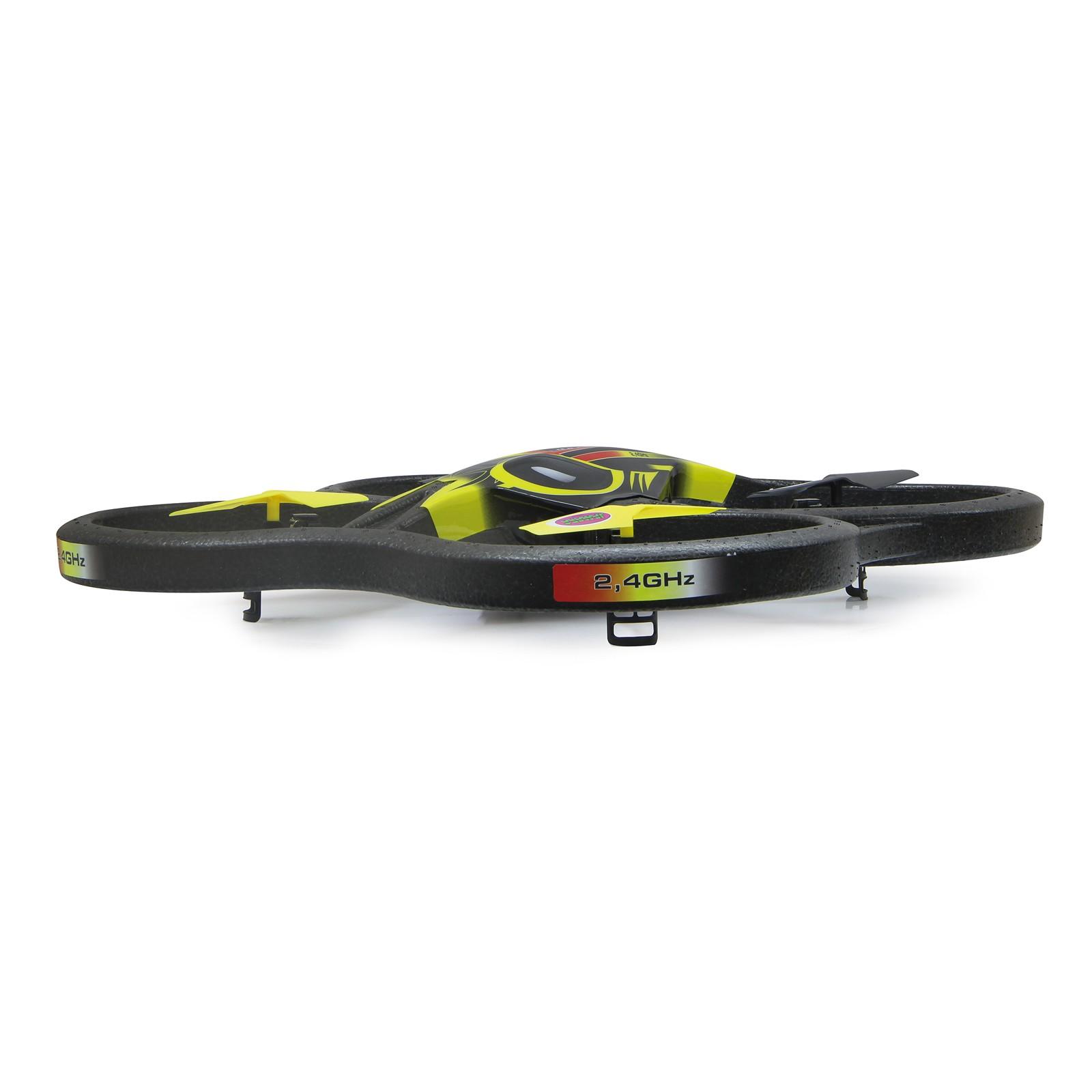 Invader Quadrocopter - 2,4 GHz Flip Stunt Modus Empfindlichkeitsregulierung