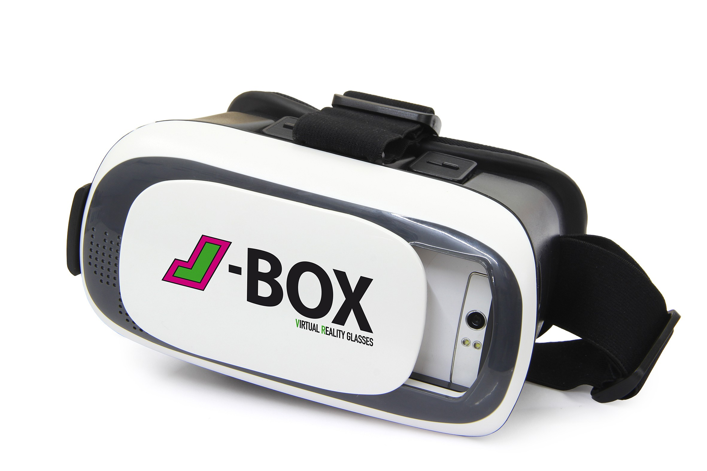 J-Box - VR-Brille für alle Smartphones von 3,5 bis 6 Zoll