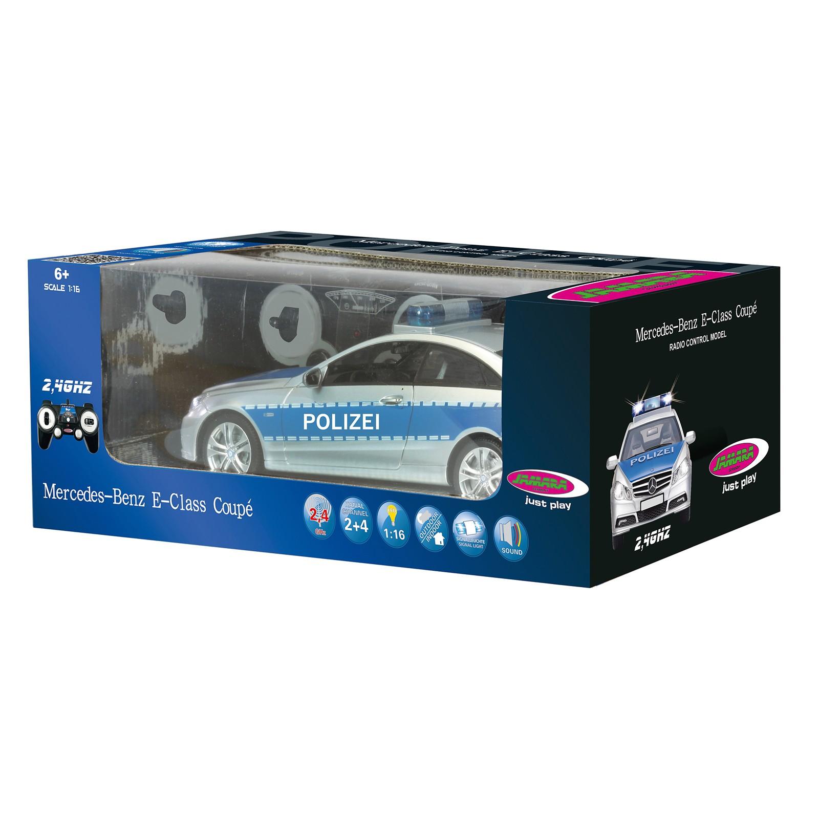 Mercedes E350 - Polizei Auto 1:16 mit Fernbedienung