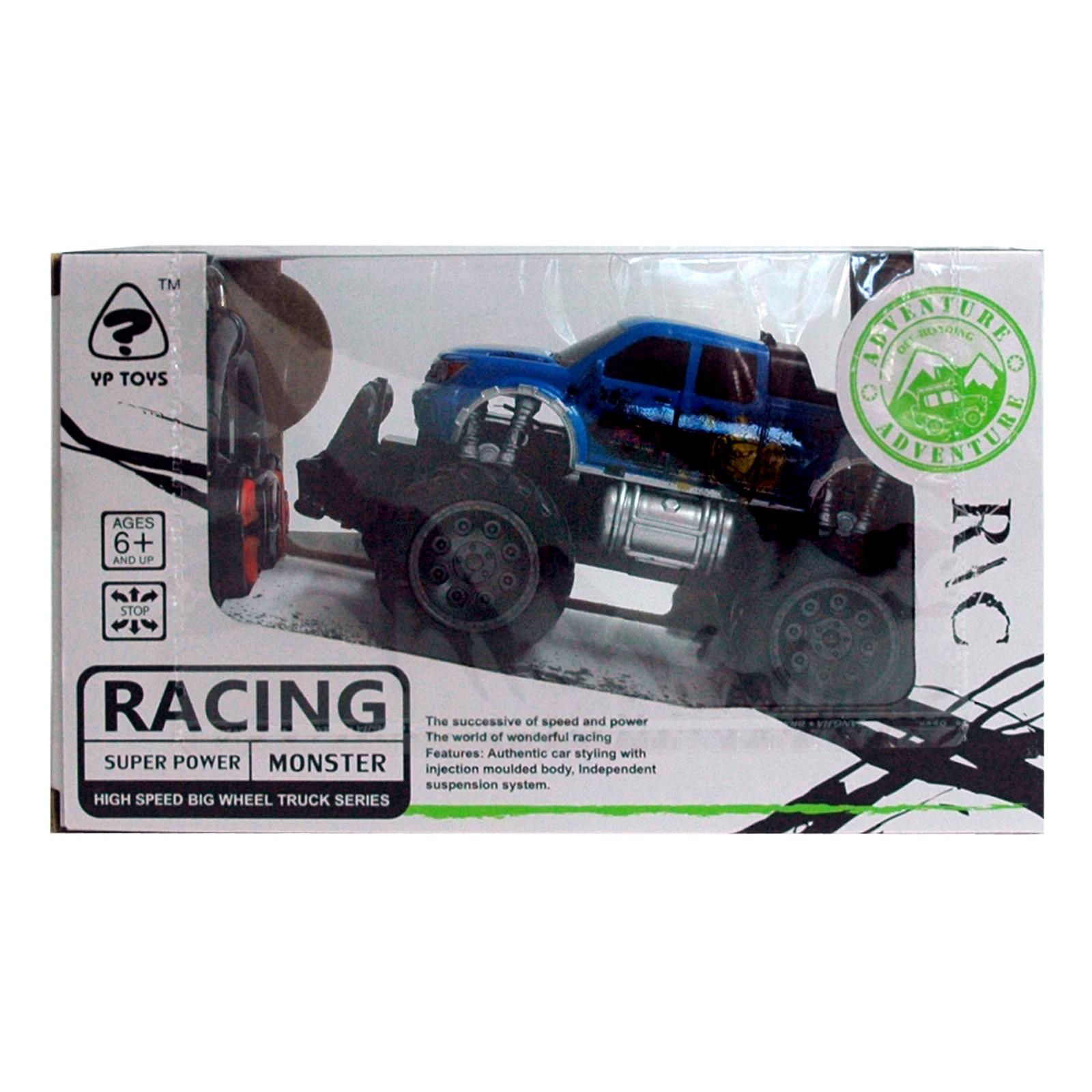 RC Jeep, blau Geländewagen + Fernbedienung