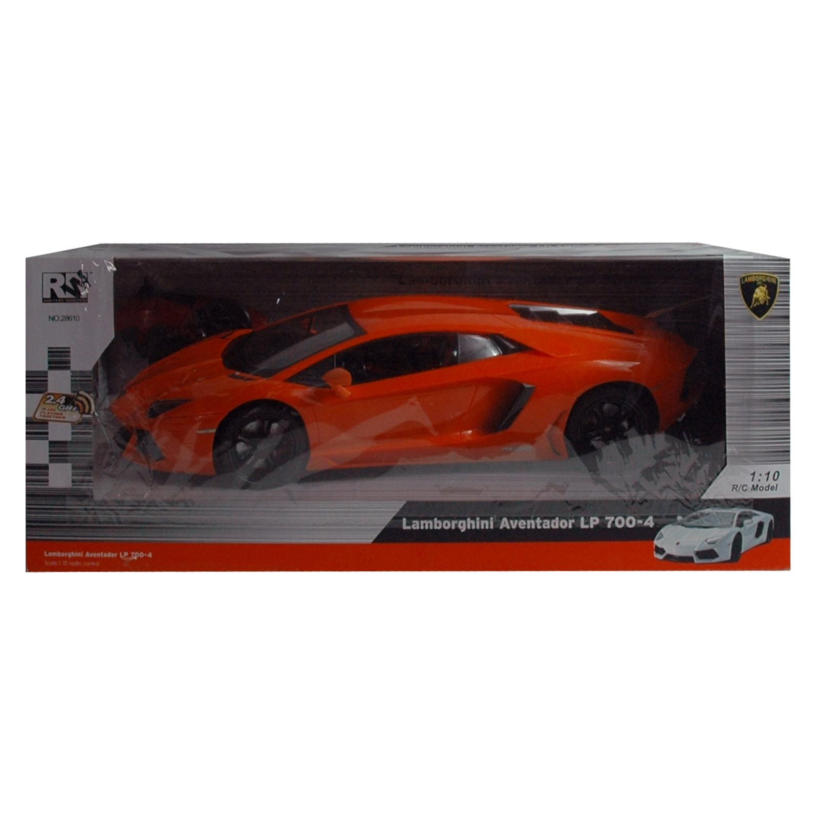 Lamborghini Aventador RC, orange mit Pistolen Fernbedienung