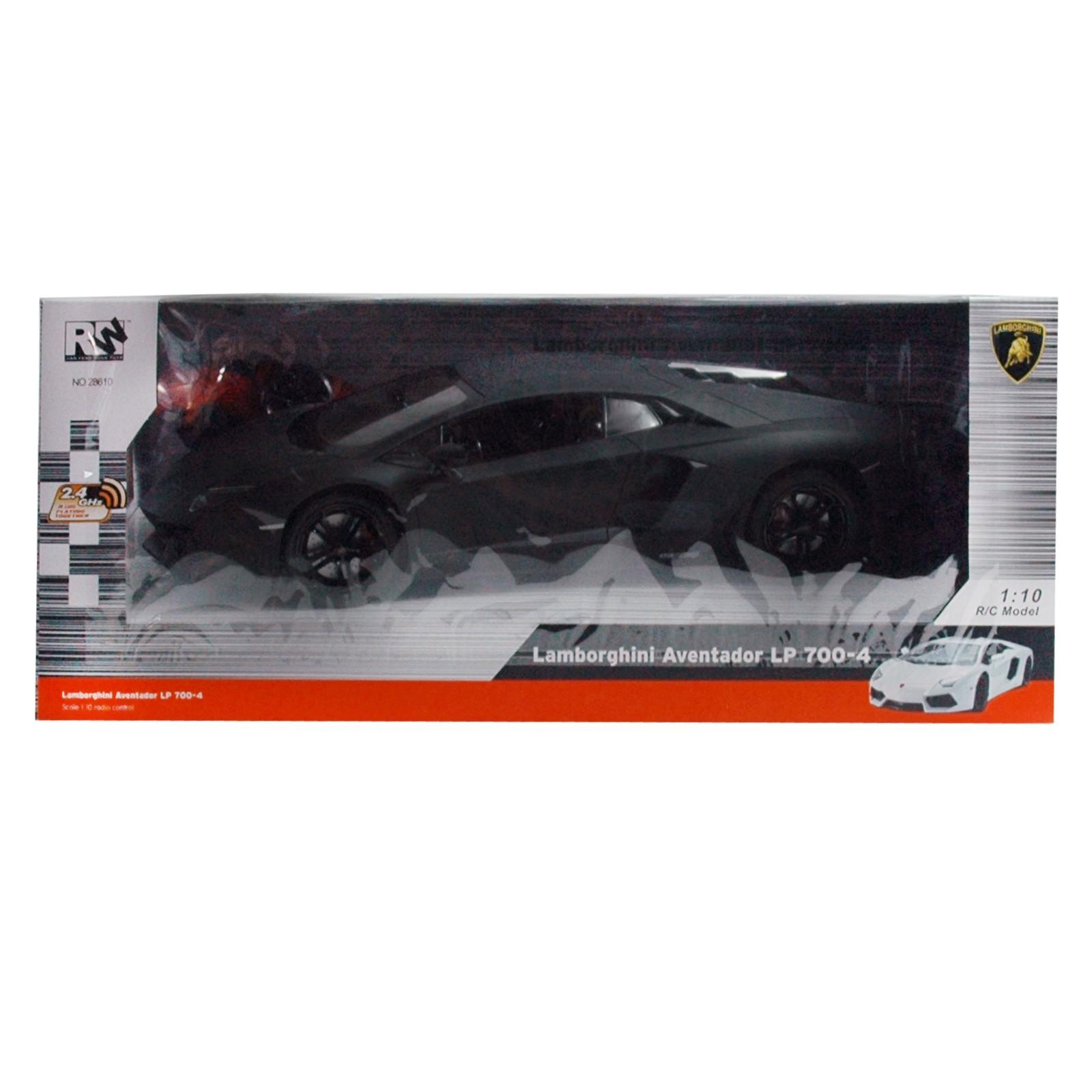 RC Lamborghini, schwarz mit Pistolenfernbedienung 2,4 Ghz