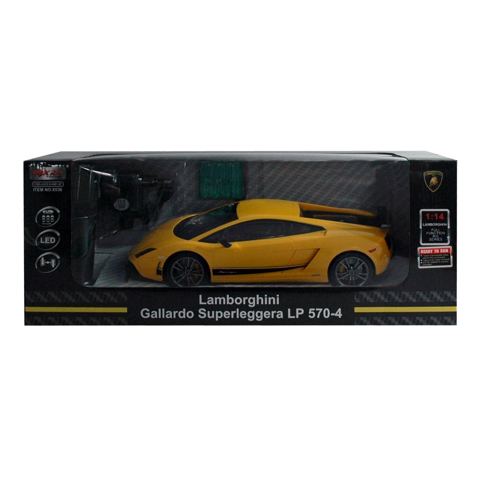 RC Lamborghini Gallardo Superleggera, gelb Pistolen Fernbedienung
