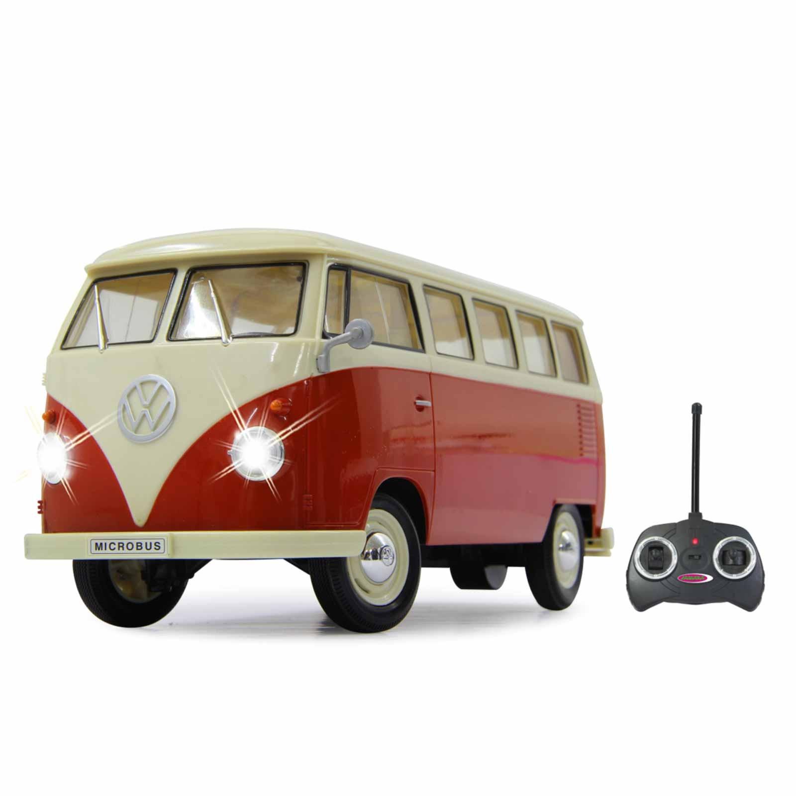 Ferngesteuerter VW Bus (Bulli) Maßstab 1:16 mit LED's