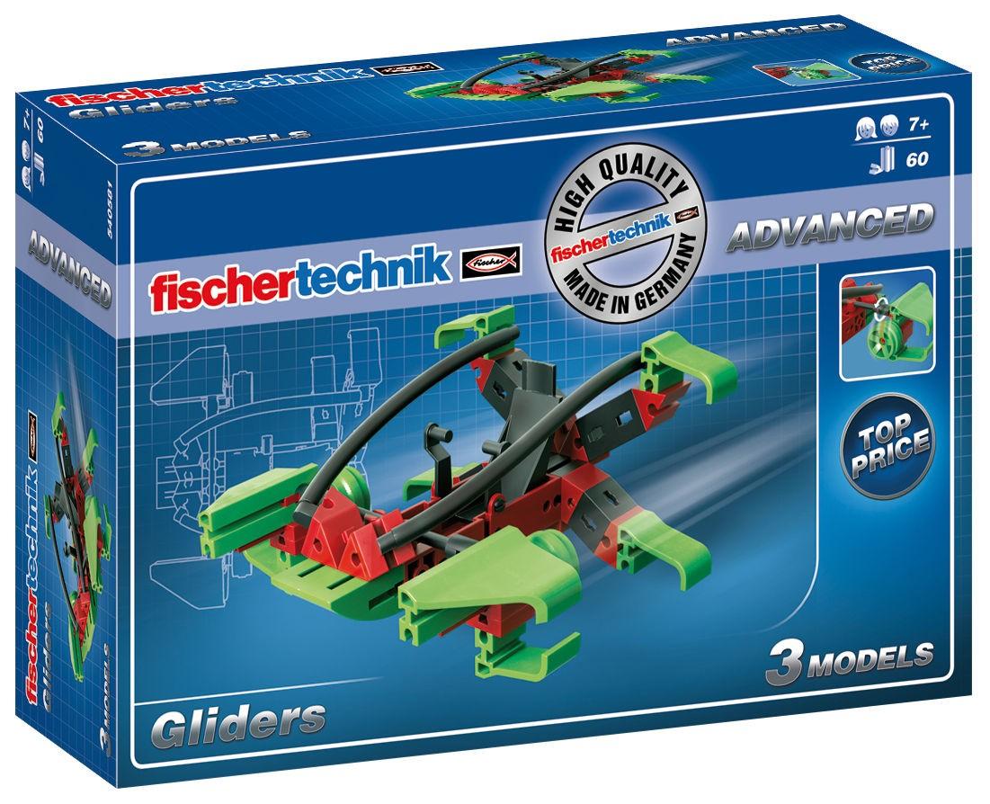 Advanced Gliders Bausatz - 60 Teile Fischertechnik