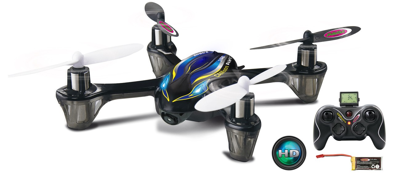 HD AHP plus Quadrocopter mit Kamera und LCD Display