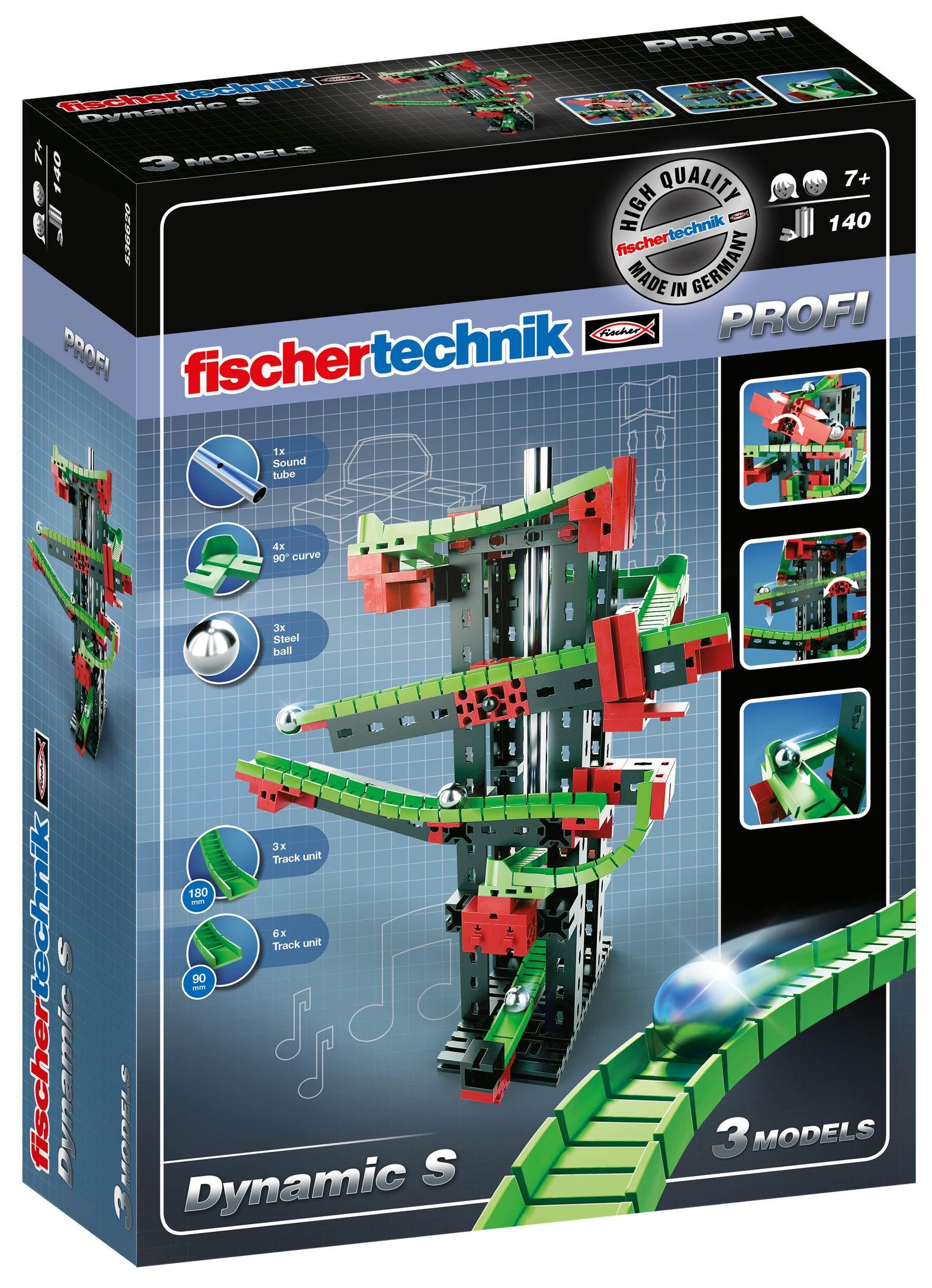 Dynamic S Baukasten - Kugelbahn Fischertechnik