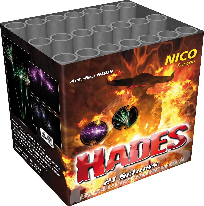 Hades Feuerwerk Batterie 21 Schuss