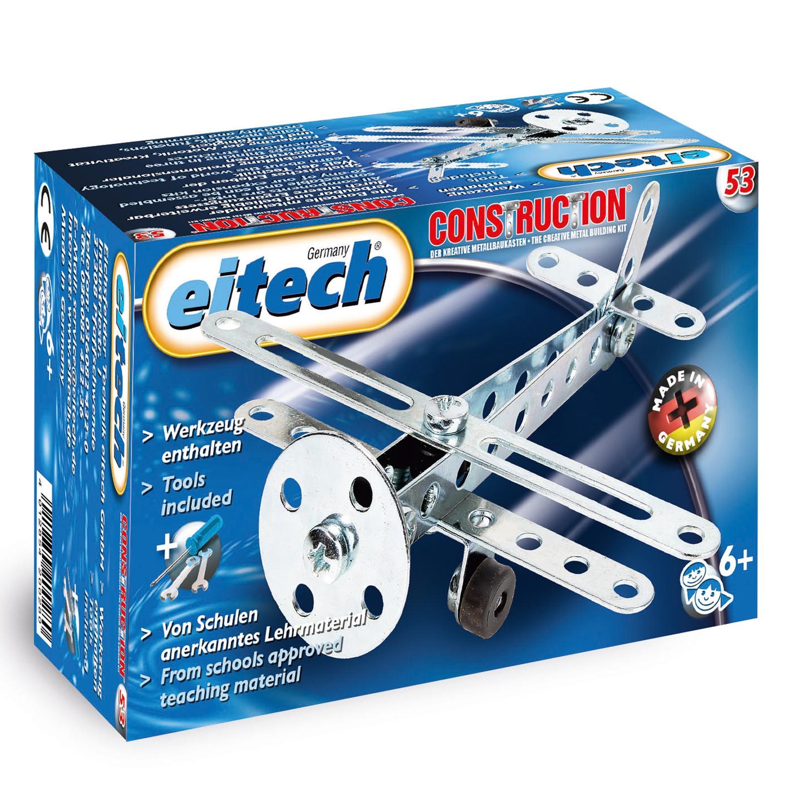 EITECH Metallbaukasten Flugzeug
