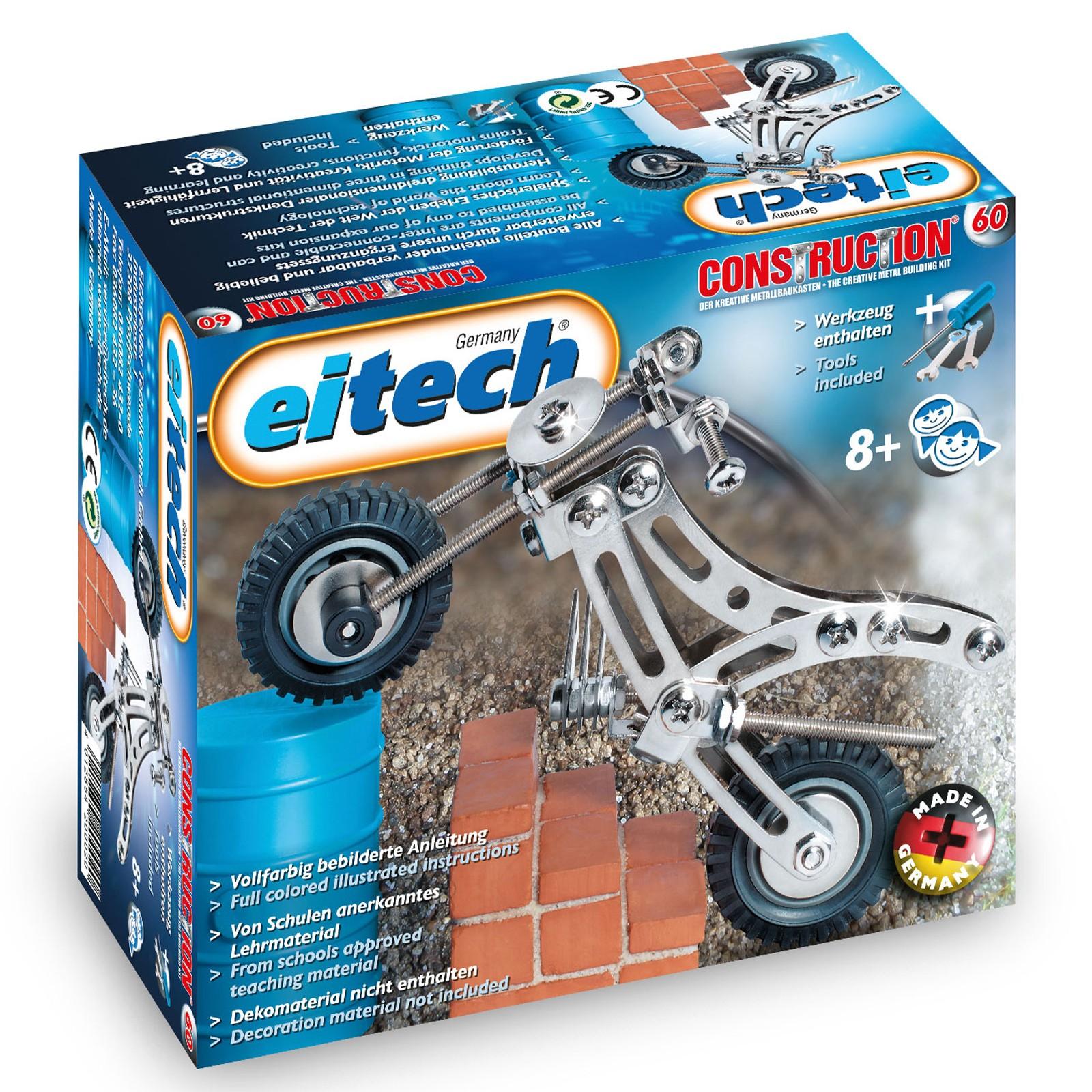 EITECH Metallbaukasten Trial Bike für Einsteiger