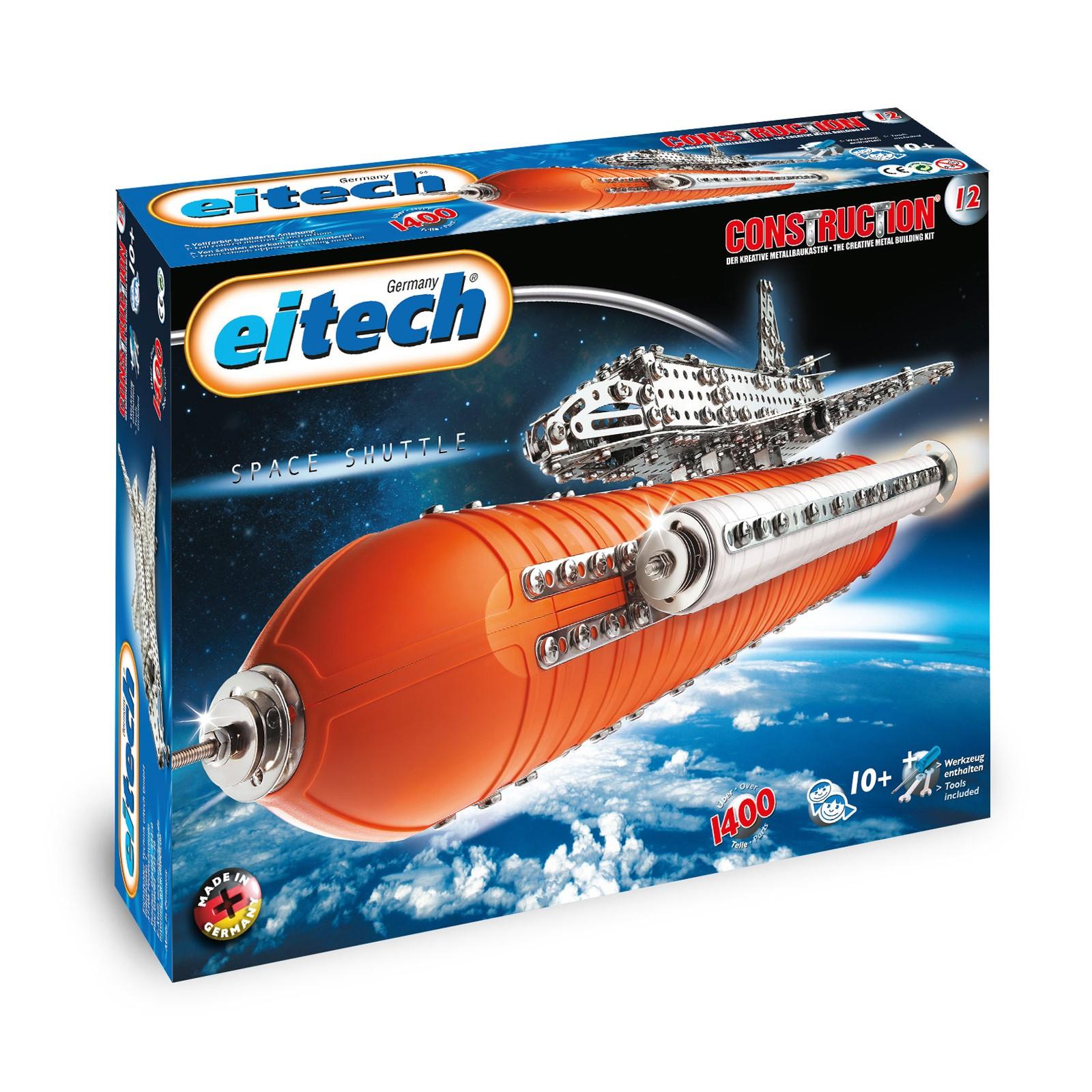 EITECH Metallbaukasten Space Shuttle Deluxe 65cm hoch