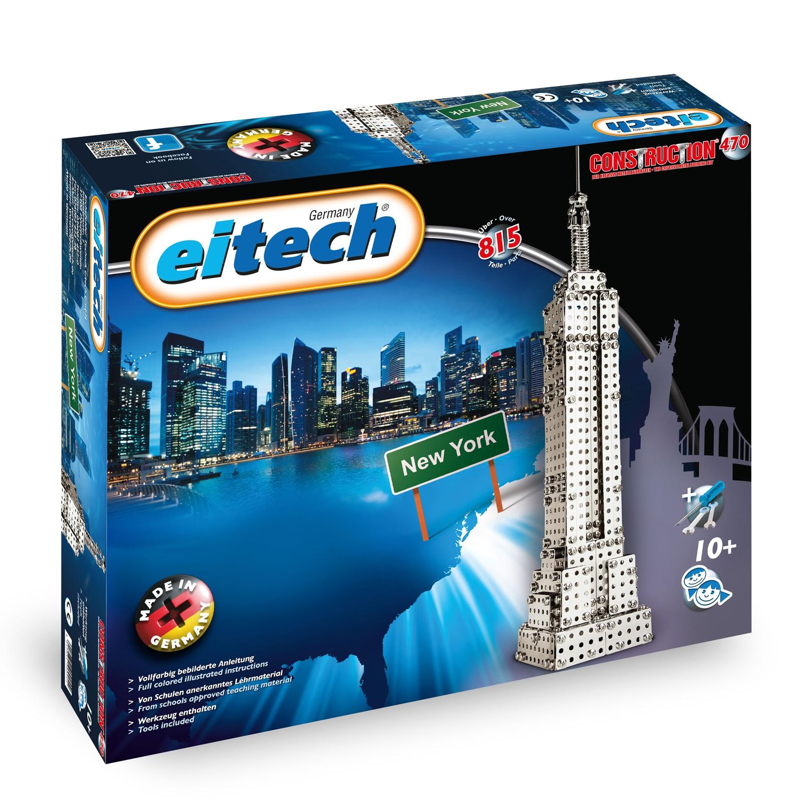 EITECH Metallbaukasten Empire State Building 50cm hoch