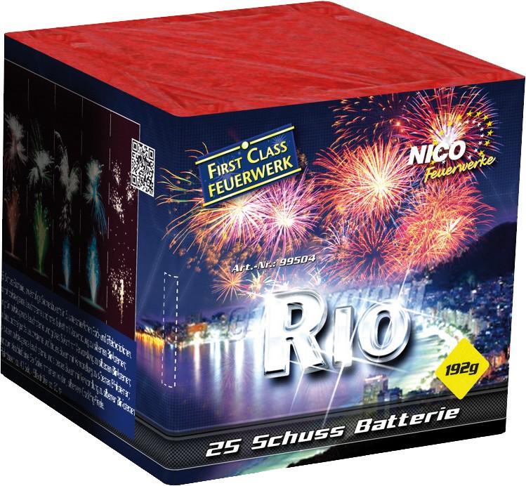 Batterie Feuerwerk Rio 25 Schuss