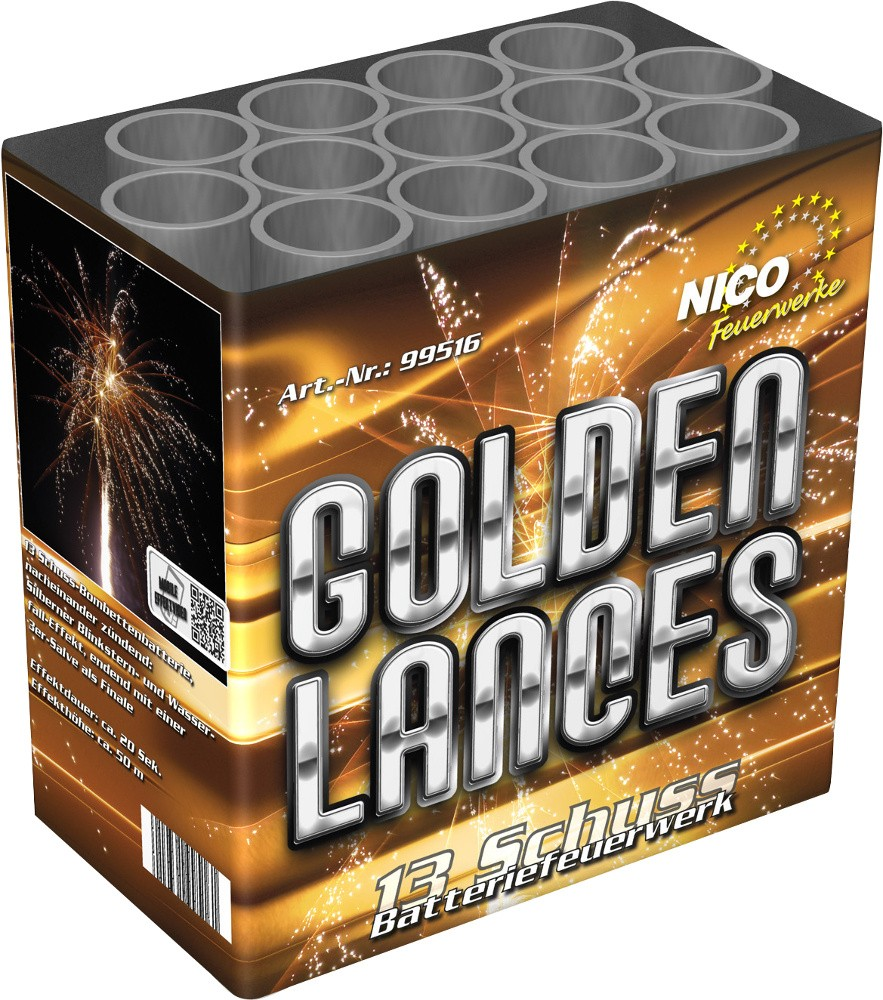 Batterie Golden Lances 13 Schuss