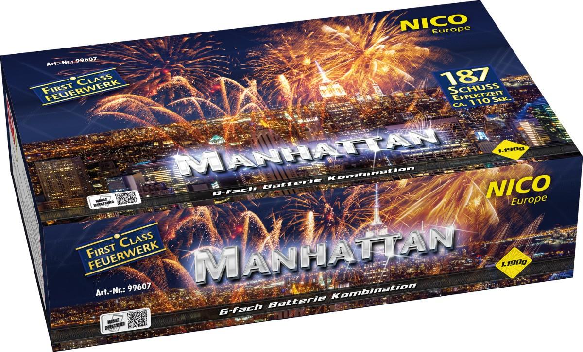 Feuerwerk Manhattan Batterie 187 Schuss