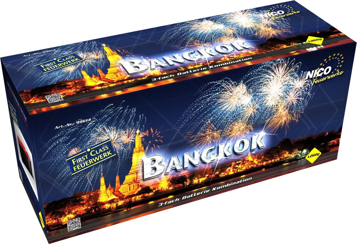 Feuerwerk Batterie Bangkok mit 65 Schuss