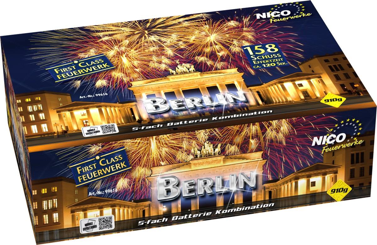 Feuerwerk Batterie Berlin 158 Schuss