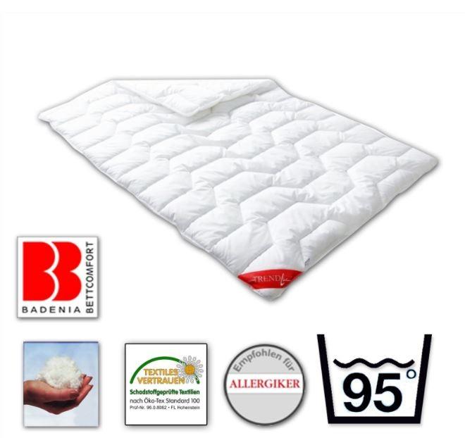 Badenia Duosteppbett - Trendline 135x200 100% Polyester Winterbettdecke