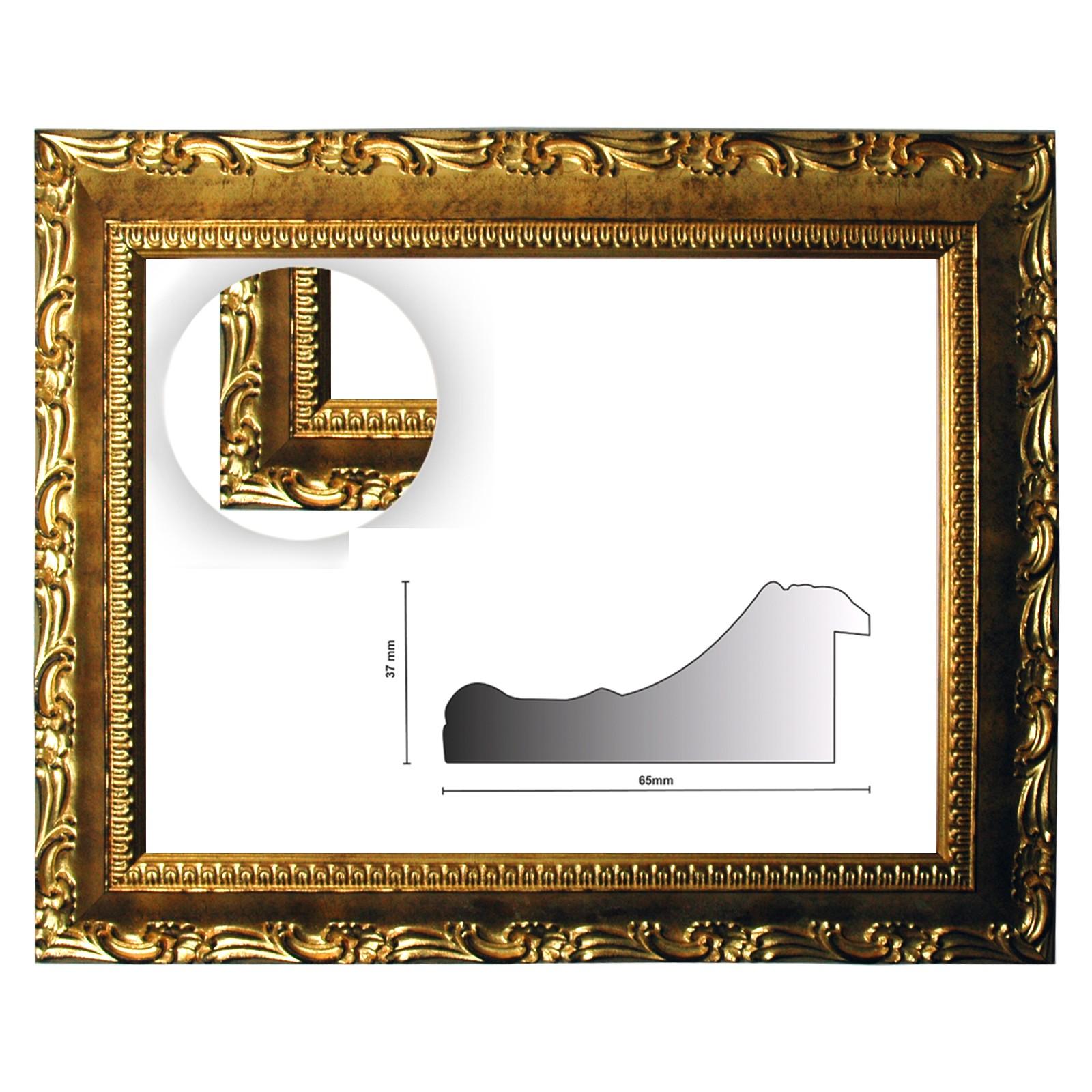 Barockrahmen gold fein verziert ORO - Günstig online bestellen