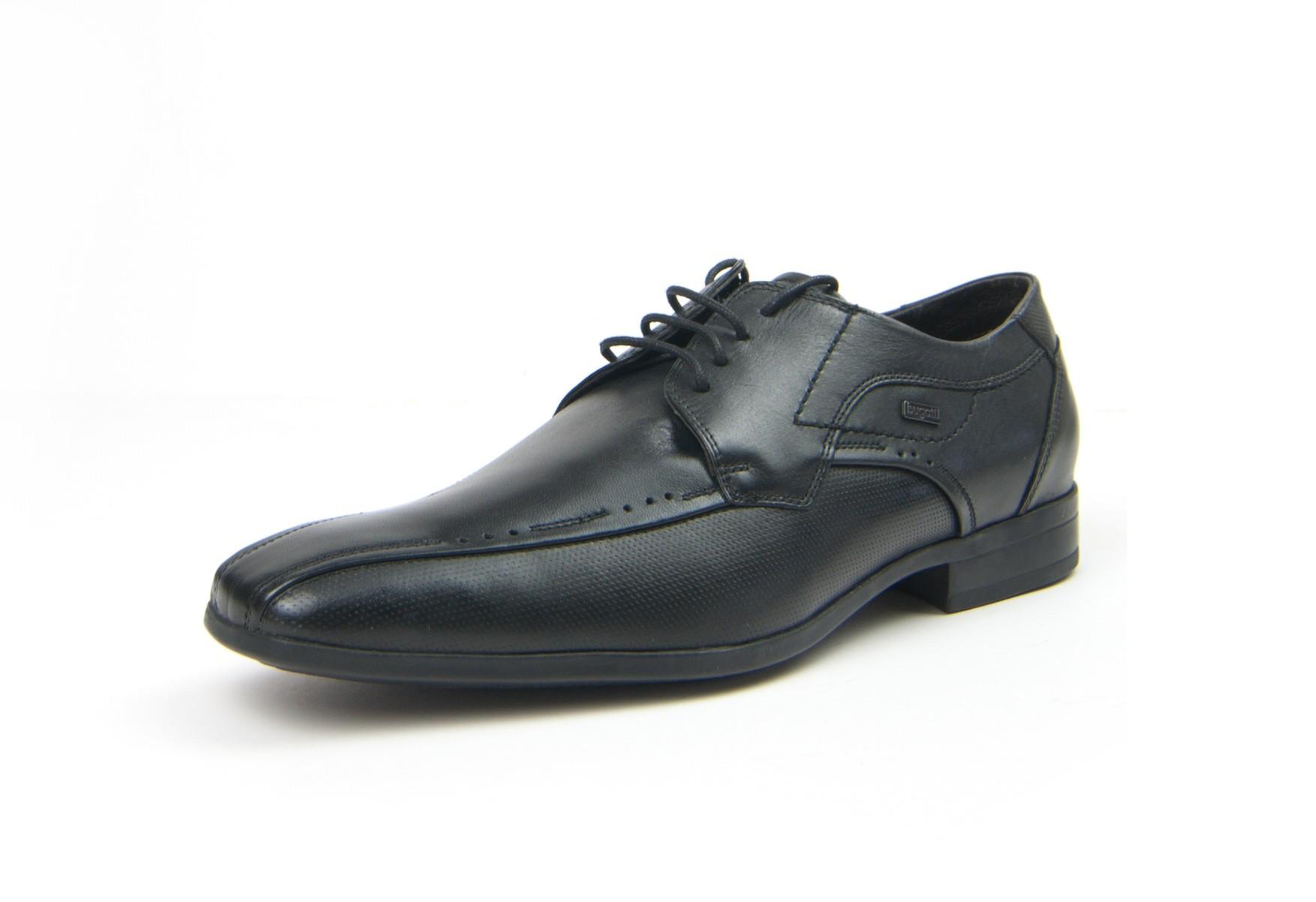Bugatti-Business Herrenschuh in schwarz zum Schnüren