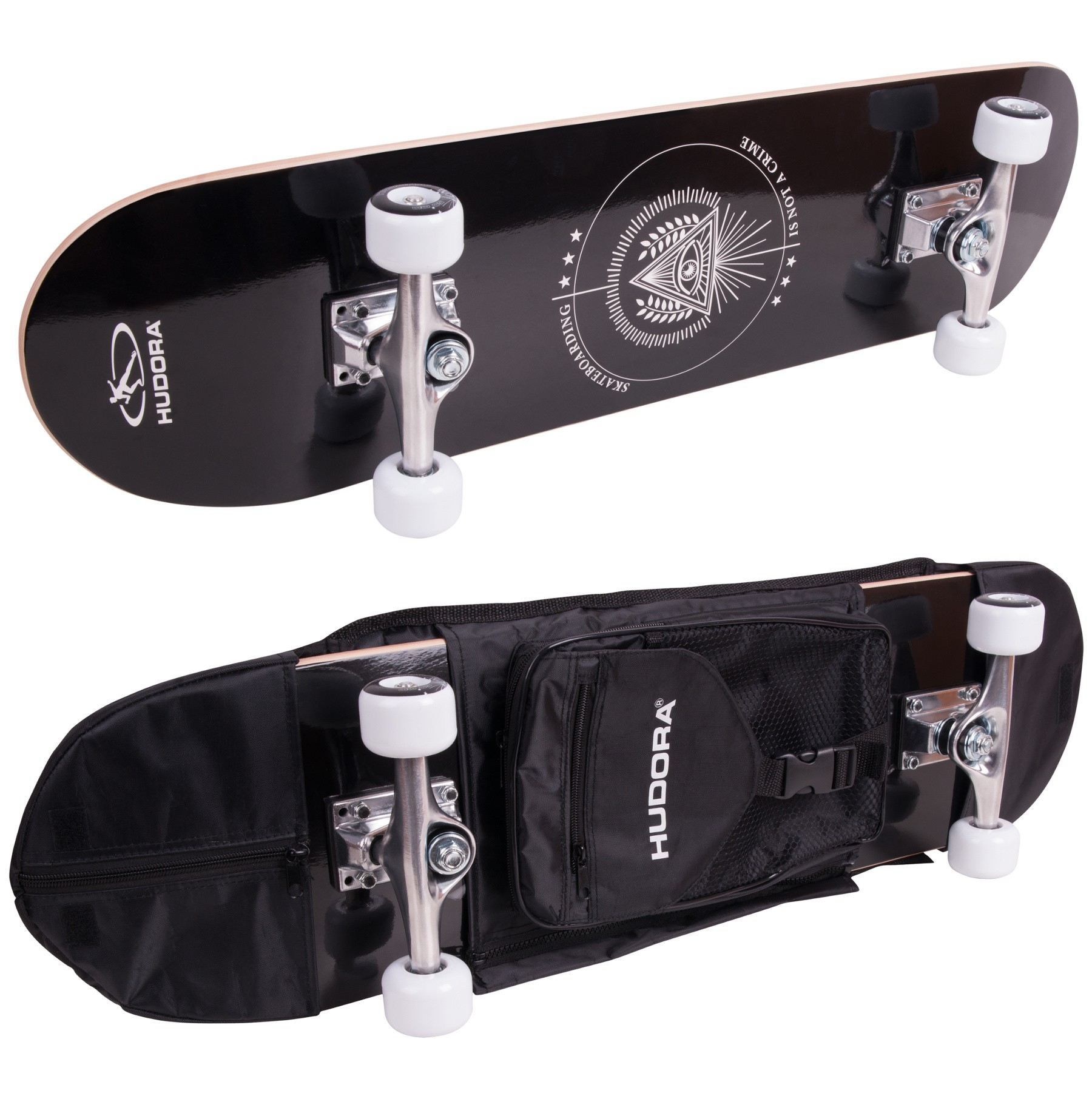 Columbia Heights Skateboard + Gratis Rucksack