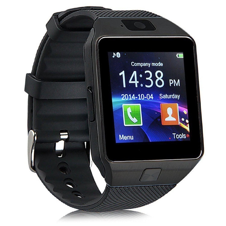 Smartwatch, Armbanduhr, Telefonfunktion, Androiduhr, Smart Watch, Sim-Karten-Steckplatz, 4 Farben