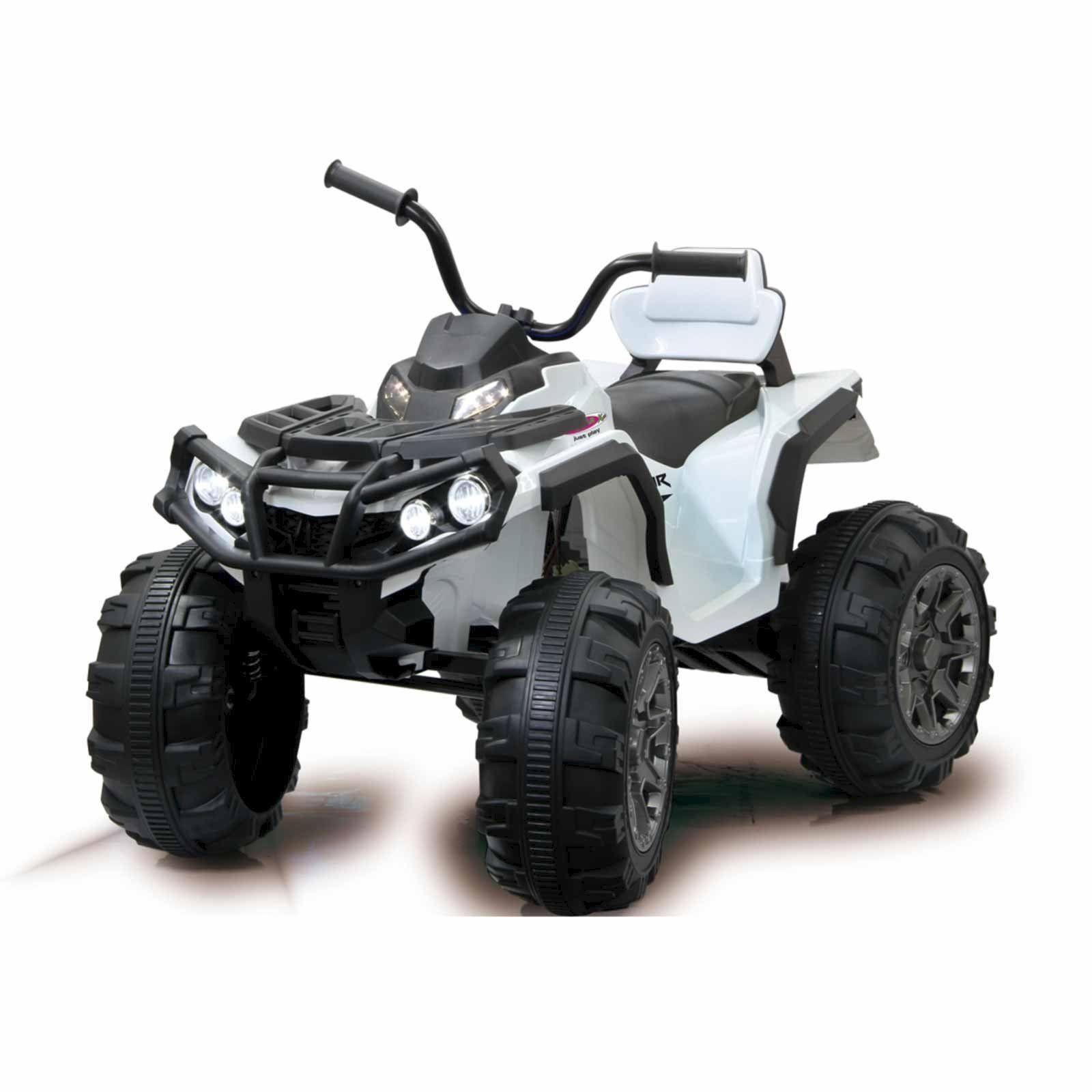 Elektrisches Quad Kinderauto 12V Frontscheinwerfer + 2 Gang Turbo