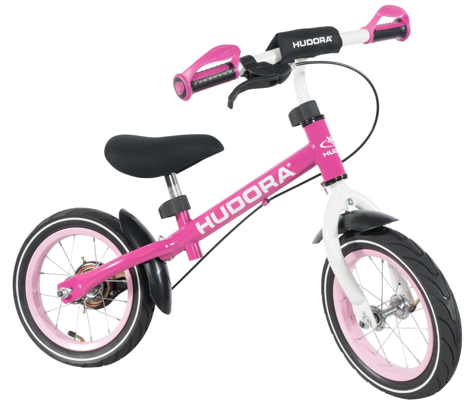 Mädchen Laufrad Ratzfatz pink Sicherheits Aufprallschutz