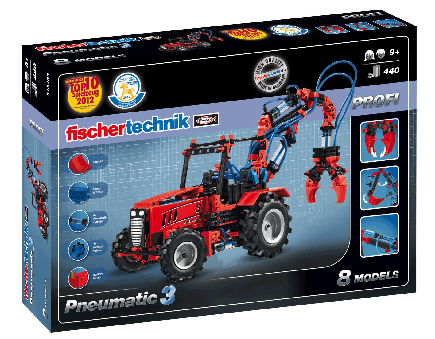 Pneumatic 3 Bausatz - 440 Teile Fischertechnik