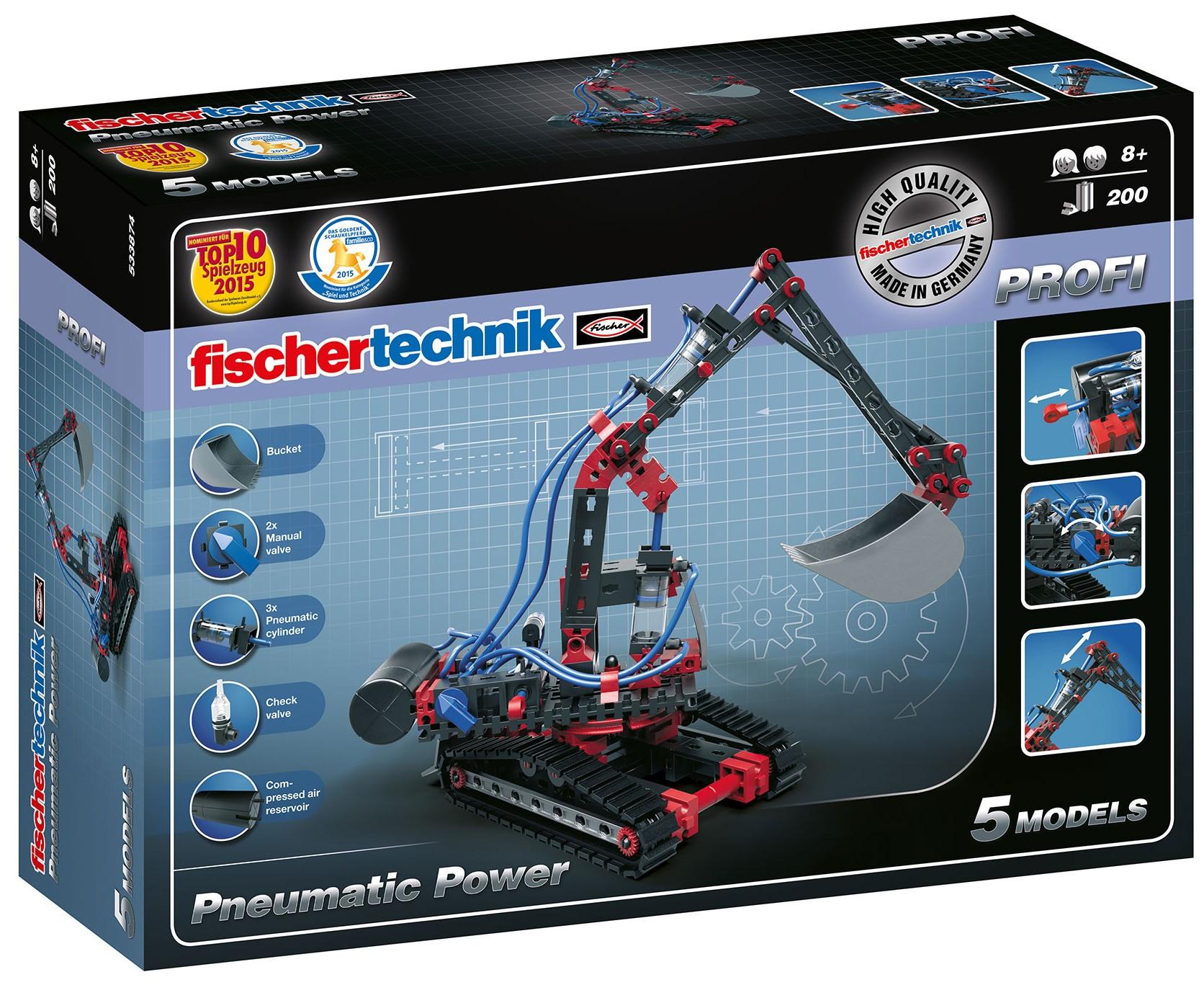 Pneumatic Power - 200 Bauteile Fischertechnik