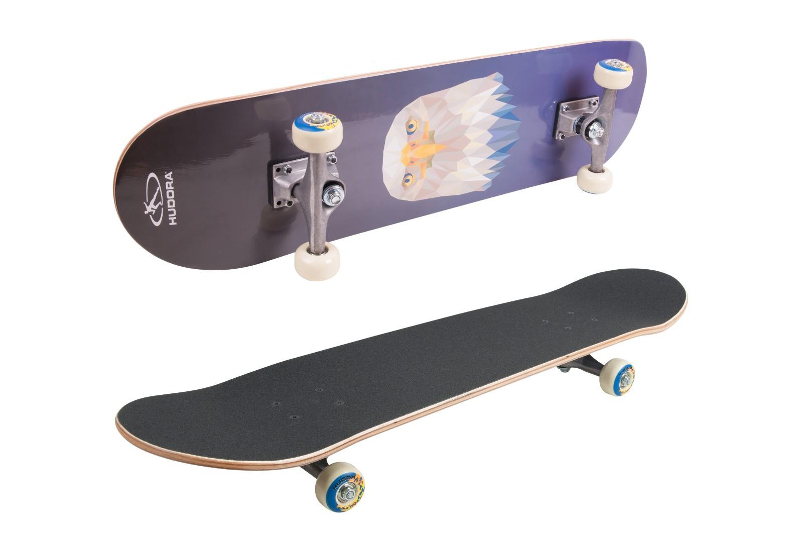 Basic Skateboard 4 Motive für Einsteiger