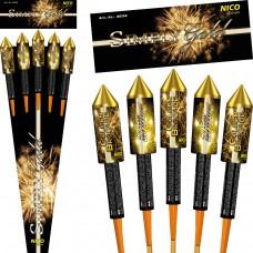 Gold Raketen Set