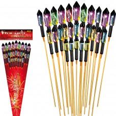 Raketen Feuerwerk Set Rocket World